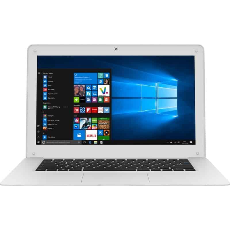 14.1 pollici windows10 Z3735F Tablet PC RAM 2GB ROM 32GB HDMI Bianco con tastiera 1366×768 IPS