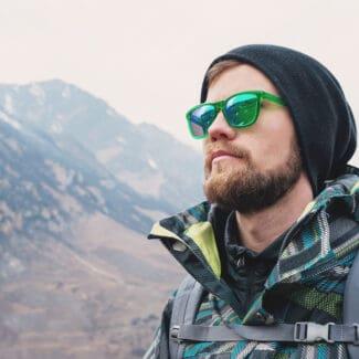 occhiali da escursione