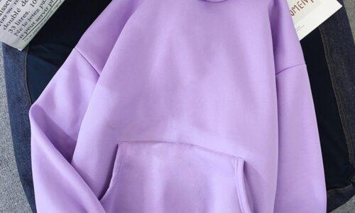Delle donne di Colore Solido Oversize Con Cappuccio 2020 Harajuku Più Velluto di Inverno di Base Felpa Casual Manica Lunga Addensare Con Cappuccio Magliette E Camicette Felpa Con Cappuccio